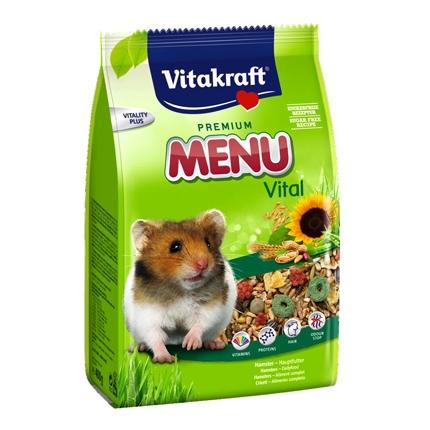 Menú para hamster