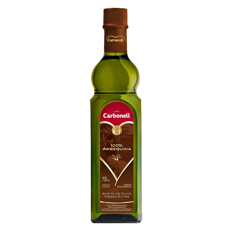 Aceite de oliva virgen extra Carbonell sabor equilibrado 750 ml.