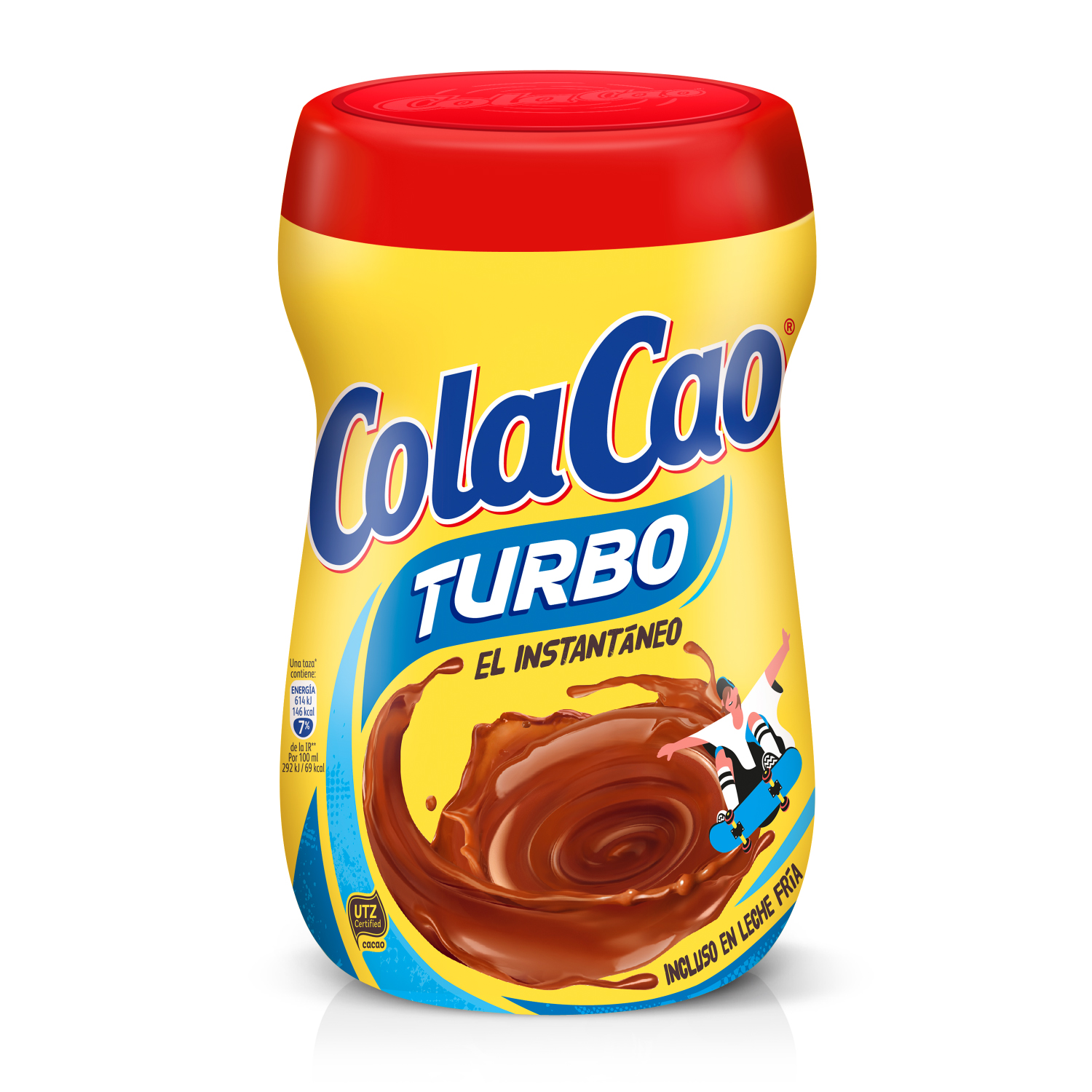 Cacao soluble instantáneo Cola Cao Turbo 750 g.
