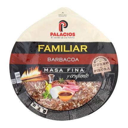 Pizza maxi barbacoa