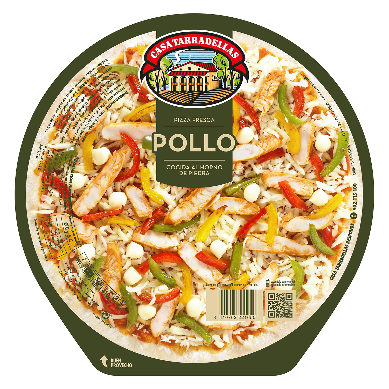 Pizza pollo Casa Tarradellas 410 g.