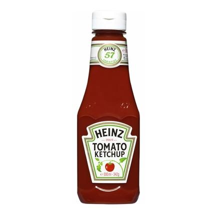 Ketchup Heinz envase 340 g.