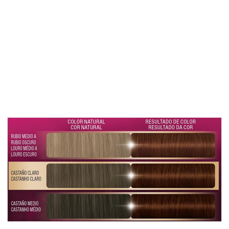 Tinte intense color cream-5.68 castaño claro rojizo - 2