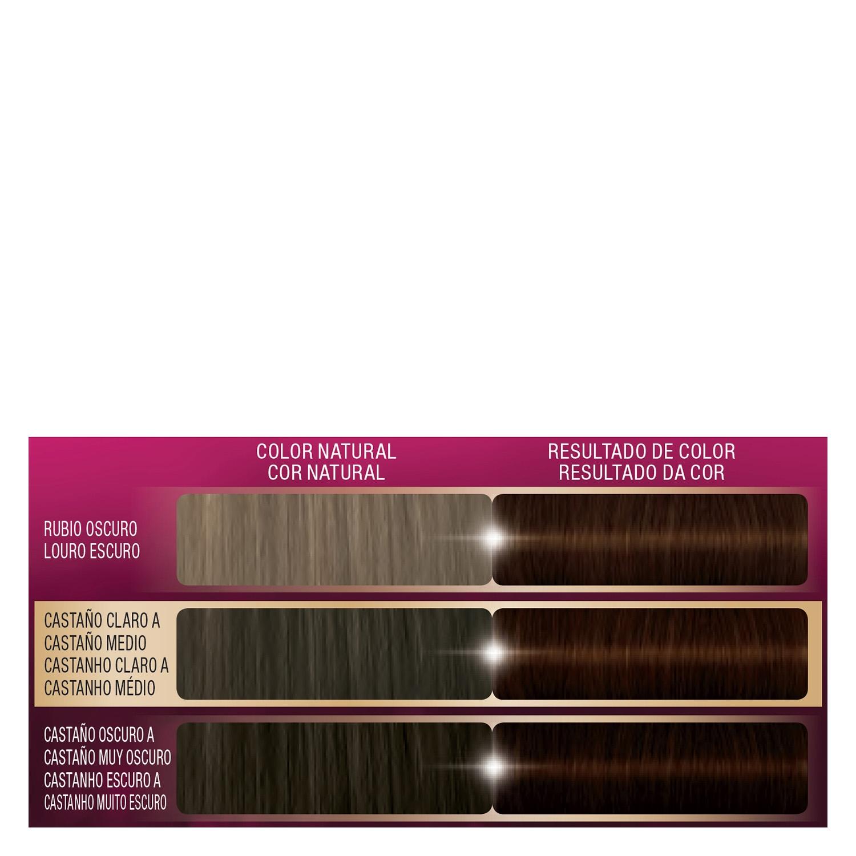 Tinte intense color cream 3.65 castaño medio chocolate Palette 1 ud. - 2