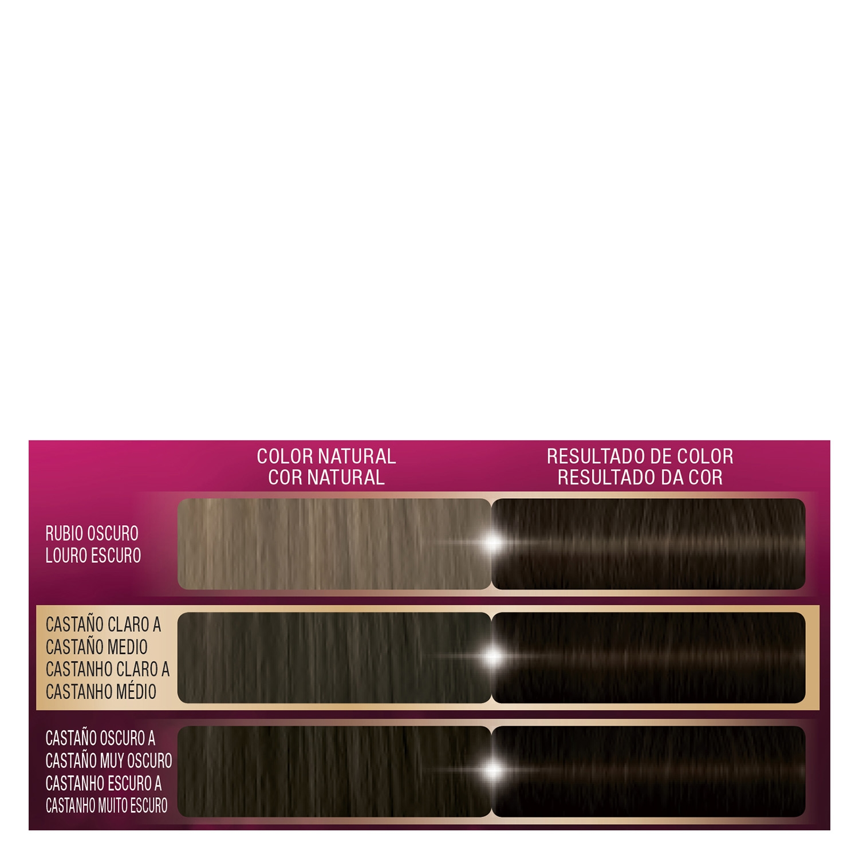Tinte intense color cream 3 castaño oscuro Palette 1 ud. - 2
