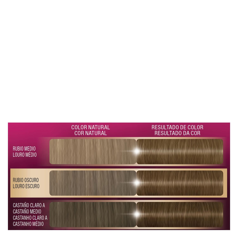 Tinte intense Color Cream 6 Rubio Oscuro Palette 1 ud. - 2