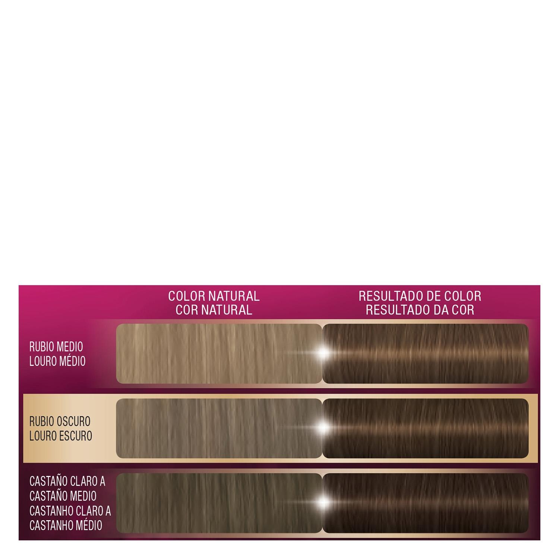Tinte intense Color Cream 5 Castaño Claro Palette 1 ud. - 2