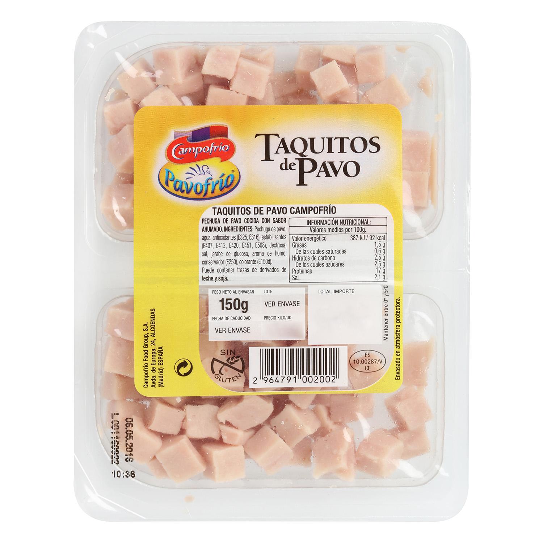 Taquitos de Pavo  -