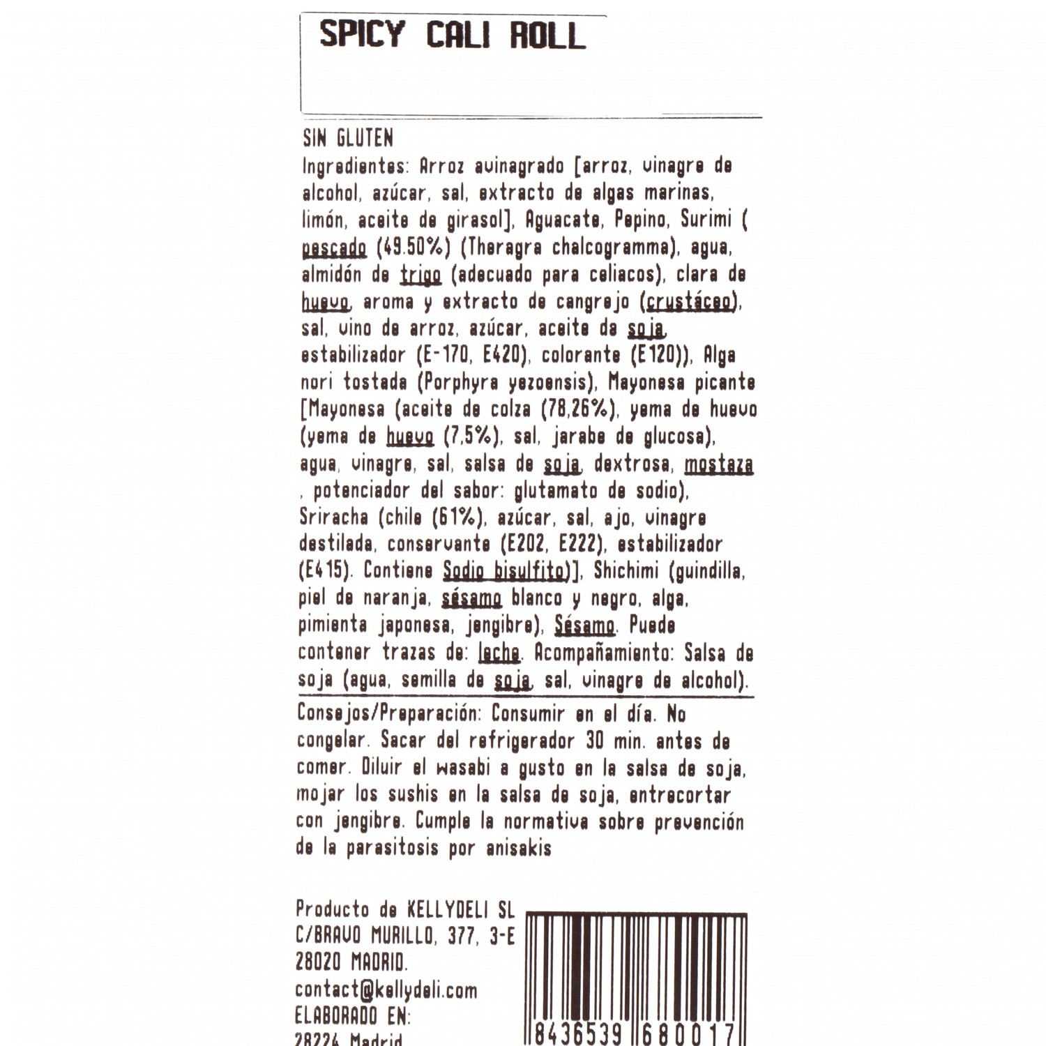 Spicy cali roll - 3