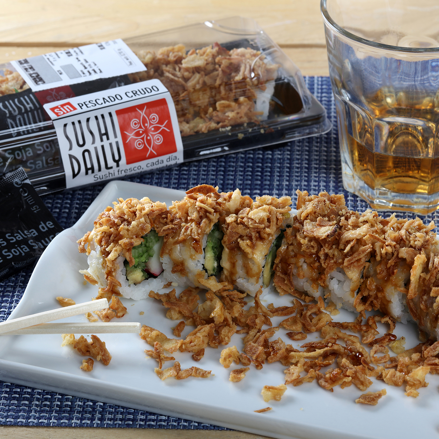 Crunch cali roll