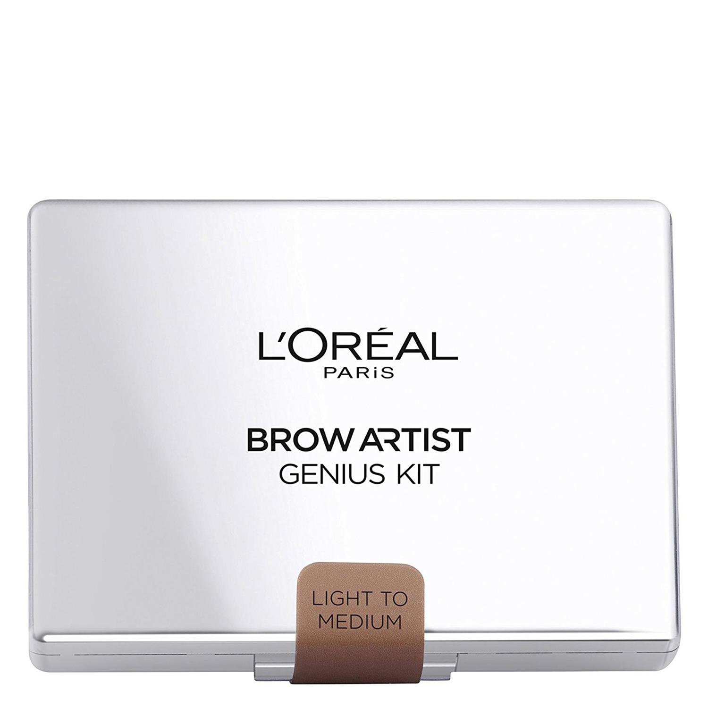 Lápiz de cejas Brow artist Genius kit nº 001 Light to Medium L'Oréal 1 ud.