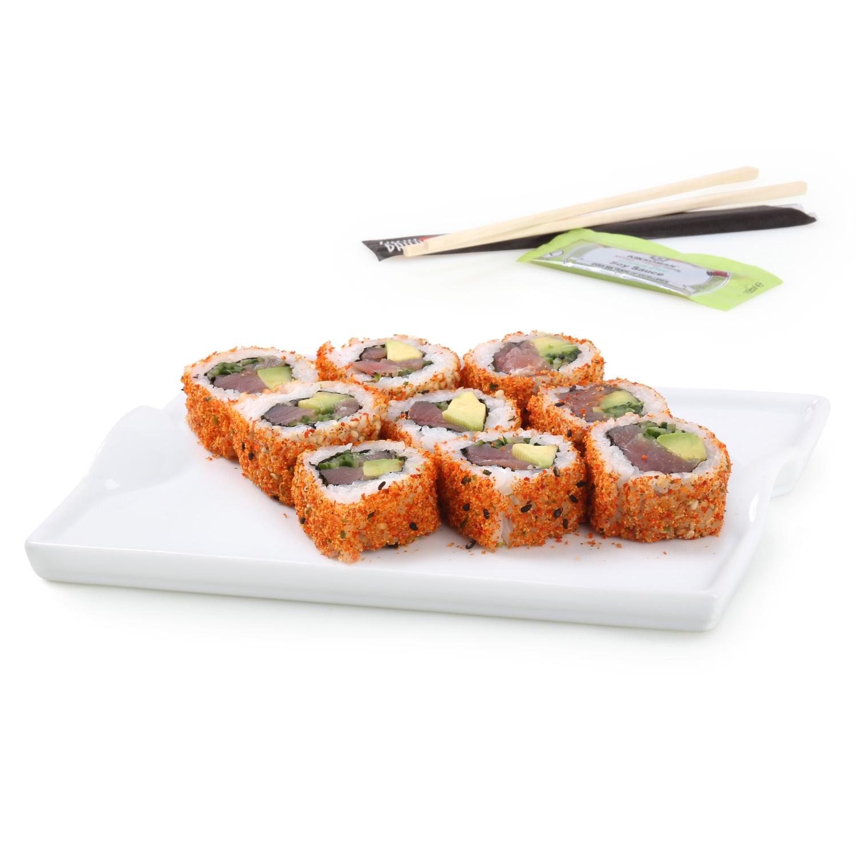Spicy roll de atún