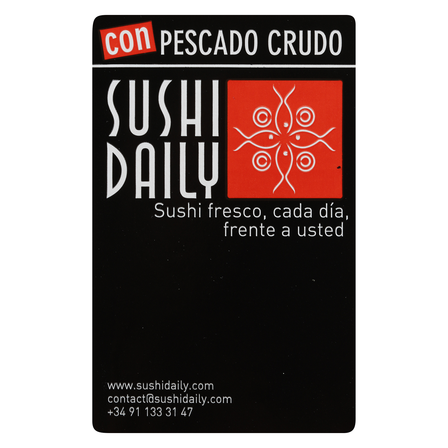 Menu one Sushi Daily 9 pzas. -