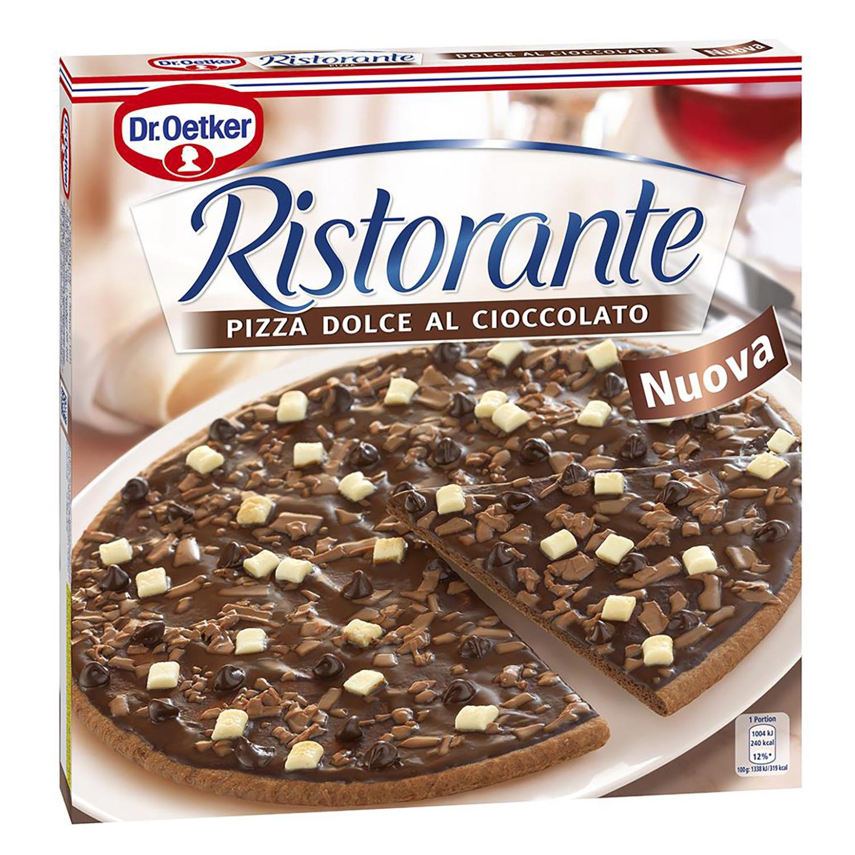 Pizza de chocolate Dr. Oetker 300 g.