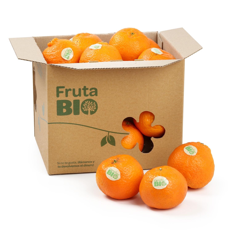 Mandarina clementina ecológica Carrefour granel 1 Kg aprox