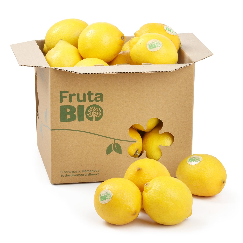 Limón ecológico Carrefour Bio granel 700 g aprox