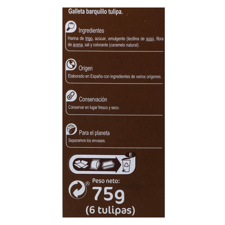 Tulipas Carrefour 75 g. -