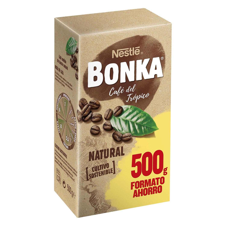 Café molido natural del Trópico