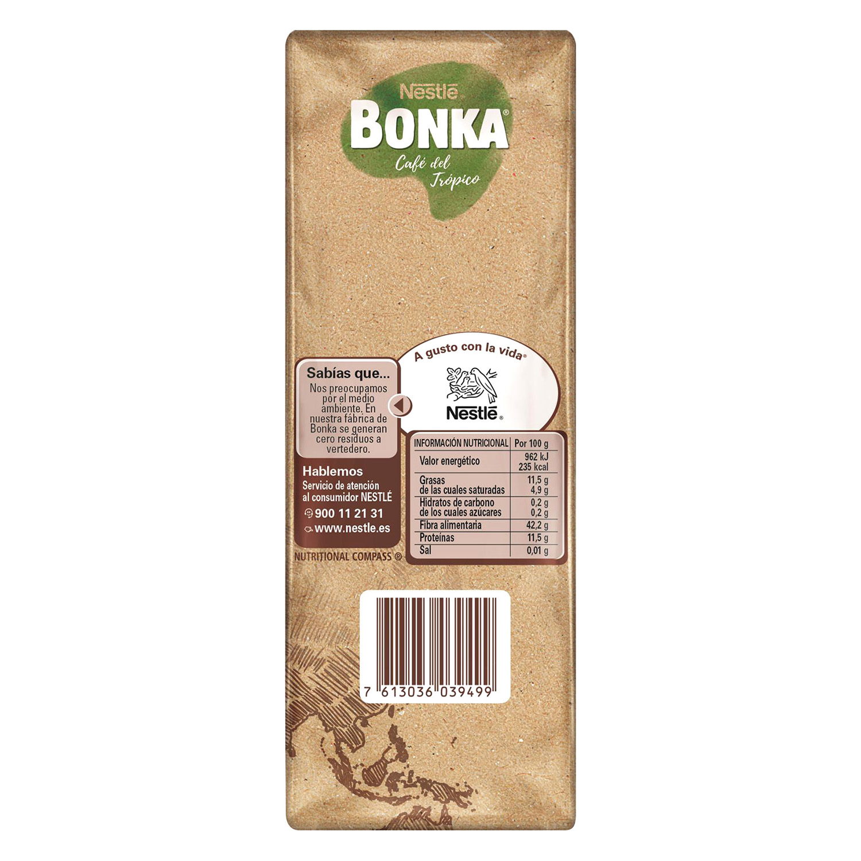 Café molido mezcla cultivo sostenible Nestlé Bonka 500 g. - 2