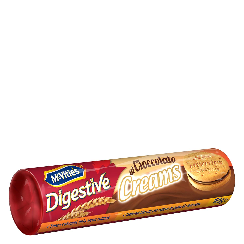 Galletas Digestive creams chocolate