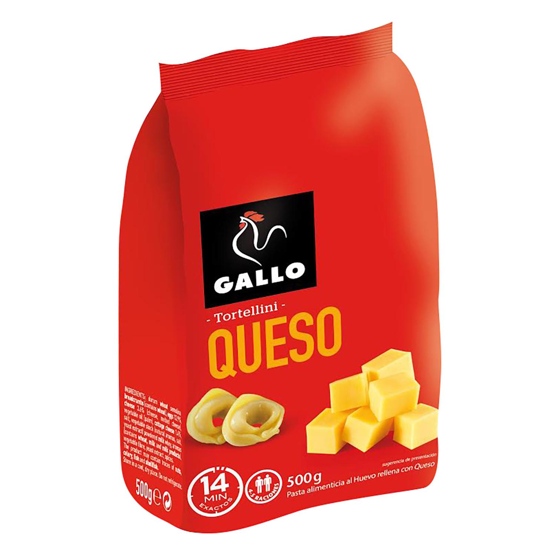 Tortellini de queso Gallo 500 g.