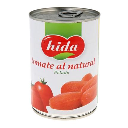 Tomate al natural entero Hida 240 g.