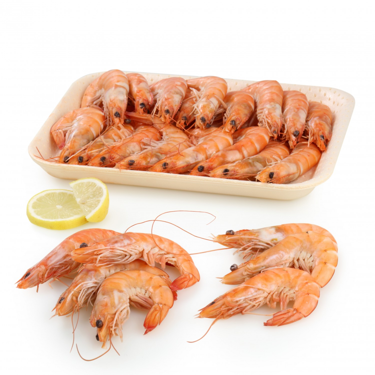 Langostino cocido Carrefour (30/40 ud) 500 g aprox