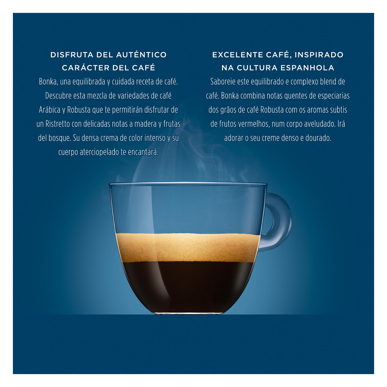 Café espresso bonka en cápsulas Nescafé Dolce Gusto 16 unidades de 7 g. - 3