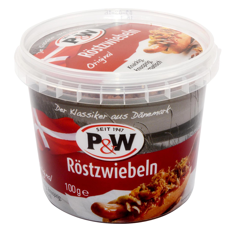 Cebolla frita P&W 100 g.