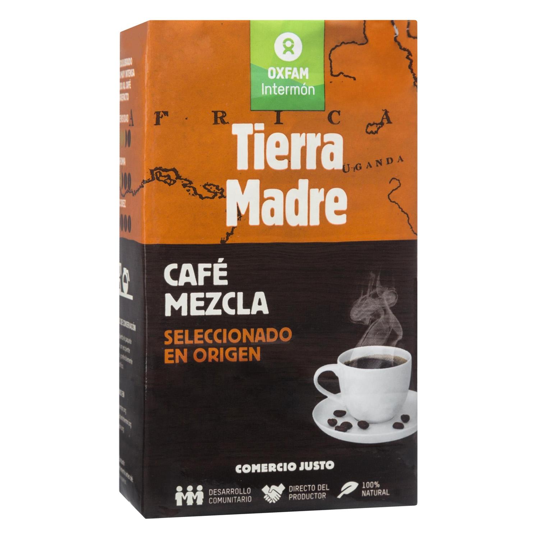 Café molido mezcla ecológico Oxfam Intermón 250 g.