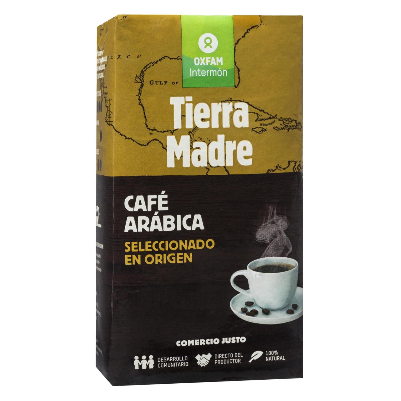 Café molido natural arábica Oxfam Intermón 250 g.