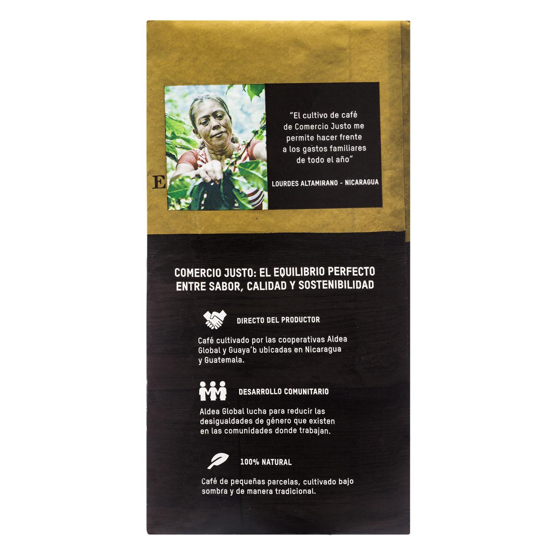 Café molido natural arábica Oxfam Intermón 250 g. - 2