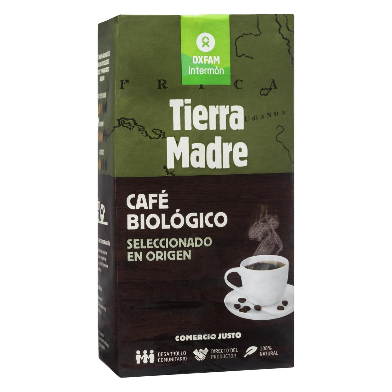 Café molido natural ecológico Oxfam Intermón 250 g.
