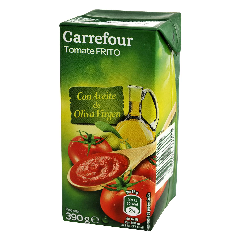 Tomate frito con aceite de oliva brick
