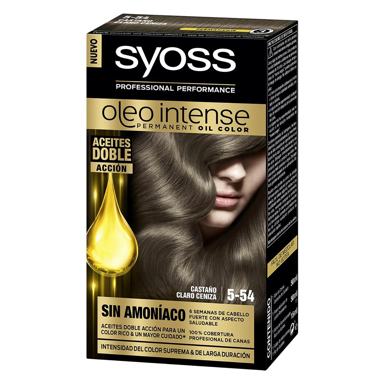Tinte sin amoníaco oleo intense 5-54 castaño claro ceniza SYOSS 1 ud.