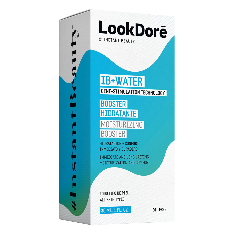 Crema hidratante booster ID+Water para todo tipo de piel Lookdoré 30 ml.