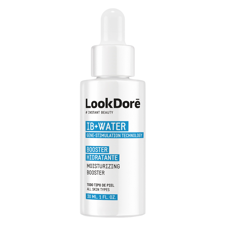 Crema hidratante booster ID+Water para todo tipo de piel Lookdoré 30 ml. -