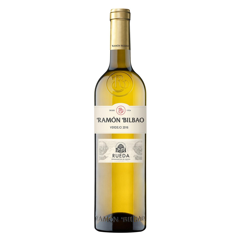 Vino D.O. Rueda blanco verdejo Monte Blanco Ramón Bilbao 75 cl.