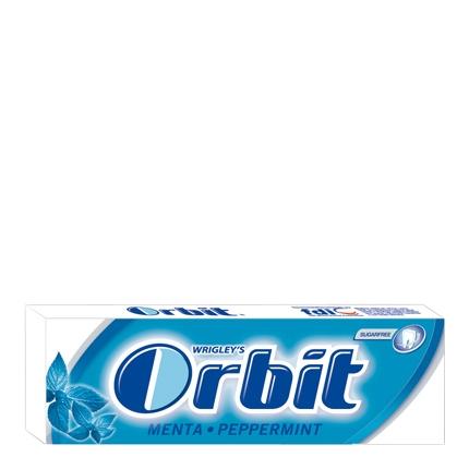 Chicles sabor menta Orbit 10 ud.