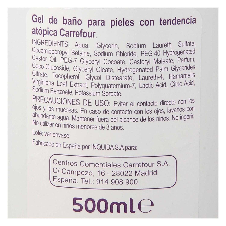 Gel de ducha pieles con tendencia atópica - 2
