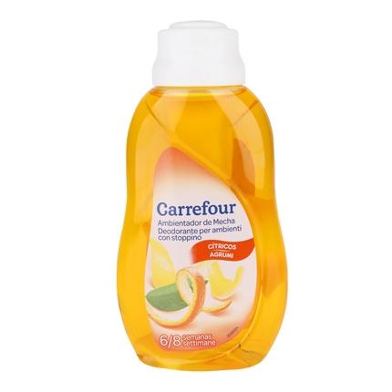 Ambientador de Mecha Cítricos Carrefour 375 ml.