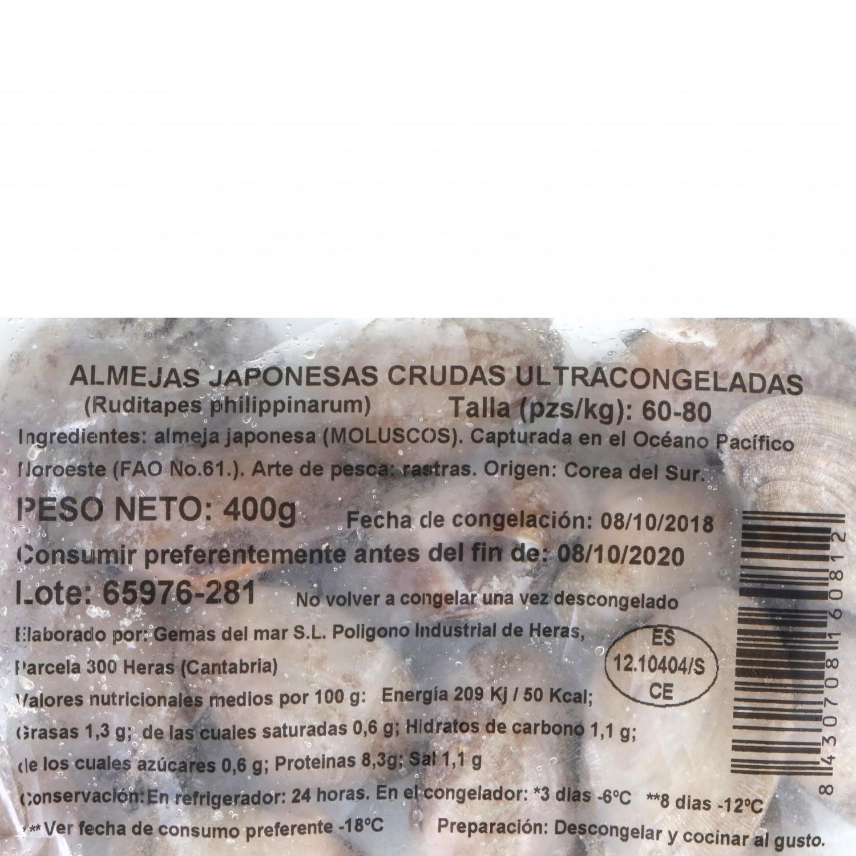 Almeja japonesa Pescatrade 400 g - 3