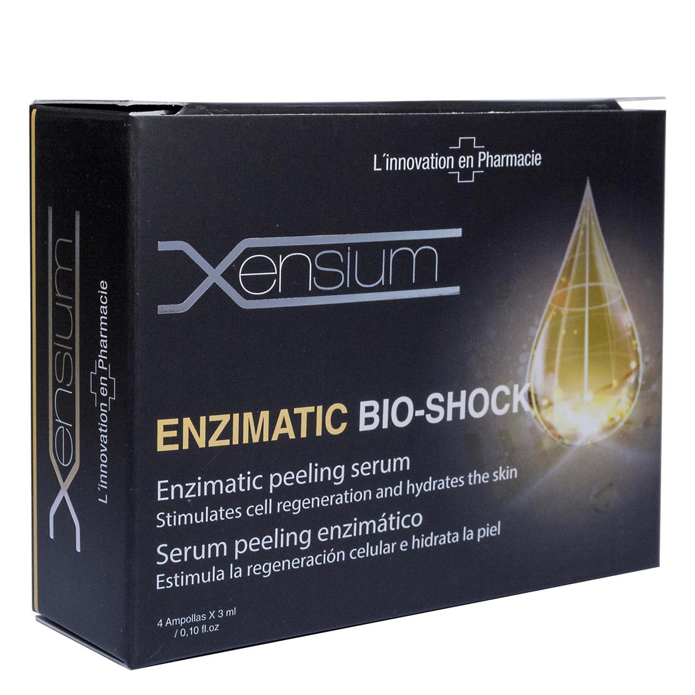 Ampollas de sérum peeling enzimático Bio Shock