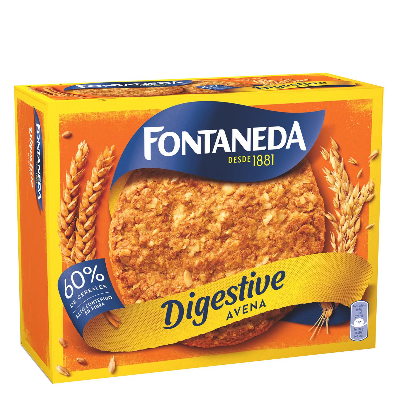 Galletas con avena Digestive Fontaneda 550 g.
