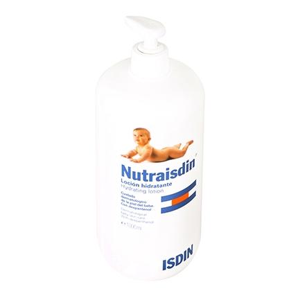 Loción hidratante para bebés Nutraisdin 1000 ml.