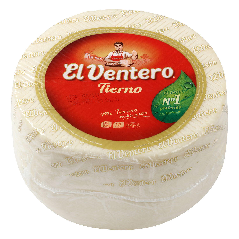 Queso mezcla tierno graso El Ventero 1,5 kg aprox -