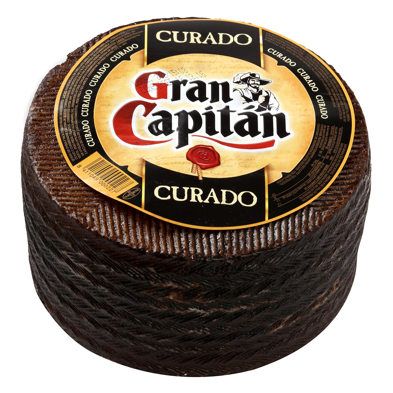 Queso curado mezcla graso Gran Capitán al corte 300 g aprox -