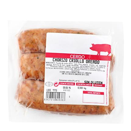 Chorizo Criollo Carrefour 400 g -