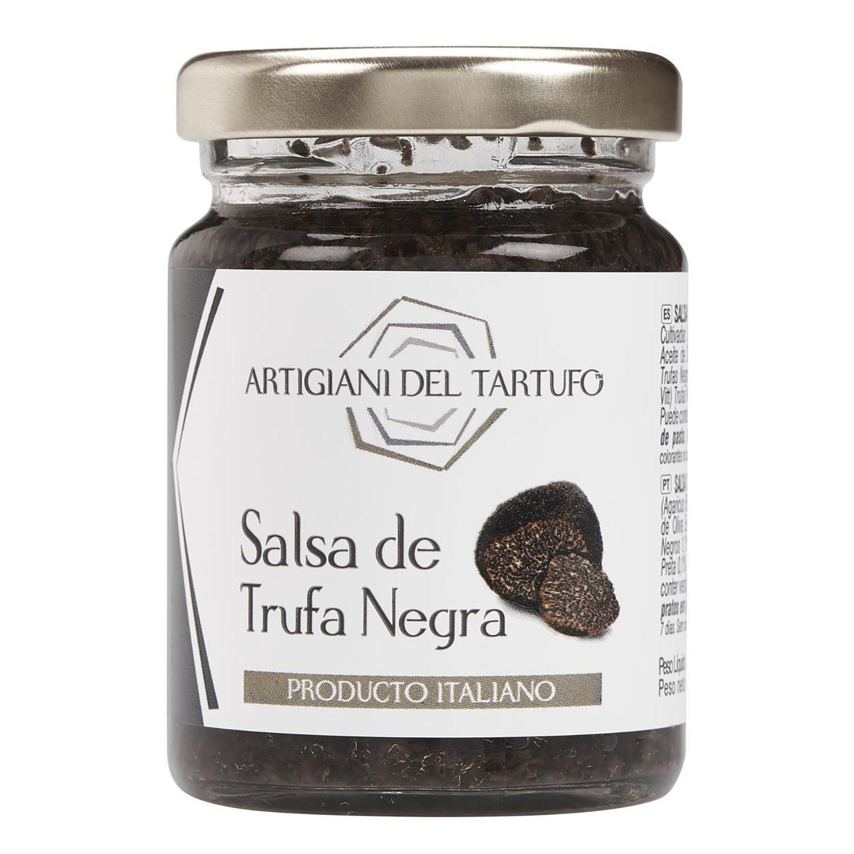 Salsa de trufa negra Artigiani del Tartufo tarro 90 g.