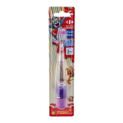 Cepillo dental infantil flashtimer +3 años Carrefour Kids 1 ud ... bb59551b9f7a